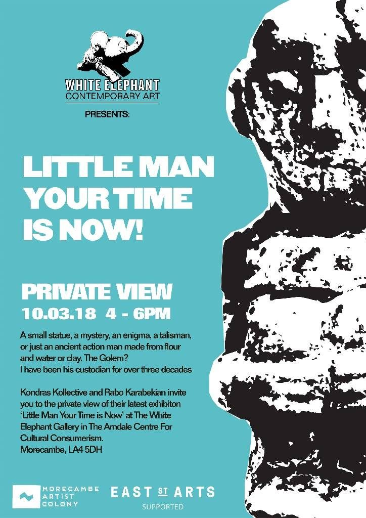Little man your time is now poster